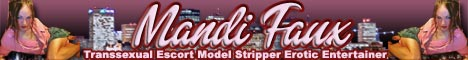 TS Mandi Faux Worlds Premier Transsexual Escort Model Entertainer