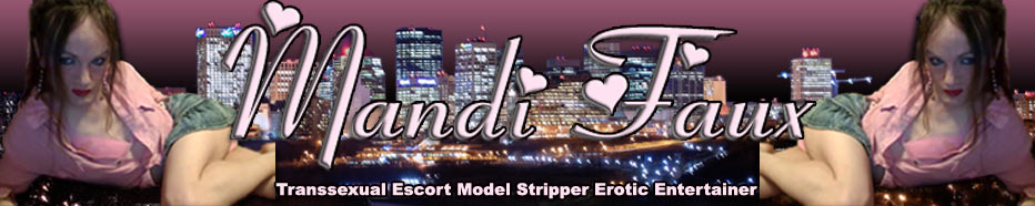 TS Mandi Faux Transsexual Escort Model Stripper Erotic Entertainer